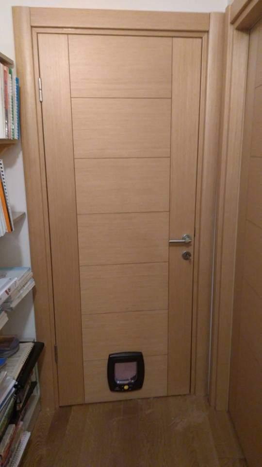 İç oda kedi kapısı